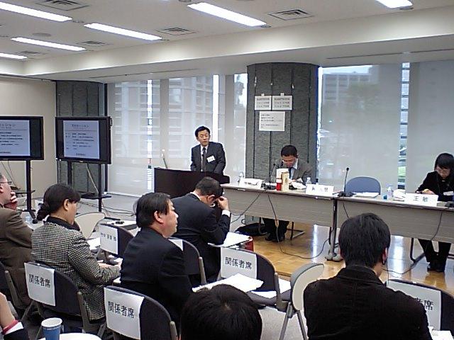 日中交流シンポジウム開催  笹川平和財団主催_d0027795_15413570.jpg
