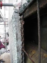 鉄骨ビルの外壁修理_f0105112_17481813.jpg