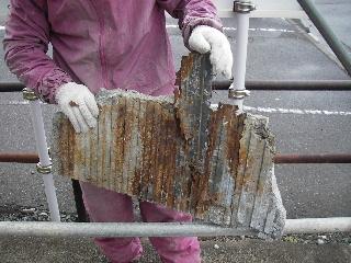 鉄骨ビルの外壁修理_f0105112_17495420.jpg