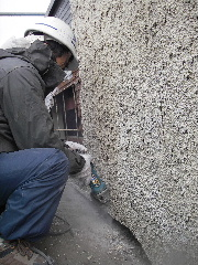 鉄骨ビルの外壁修理_f0105112_1753341.jpg