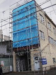 鉄骨ビルの外壁修理_f0105112_17551611.jpg