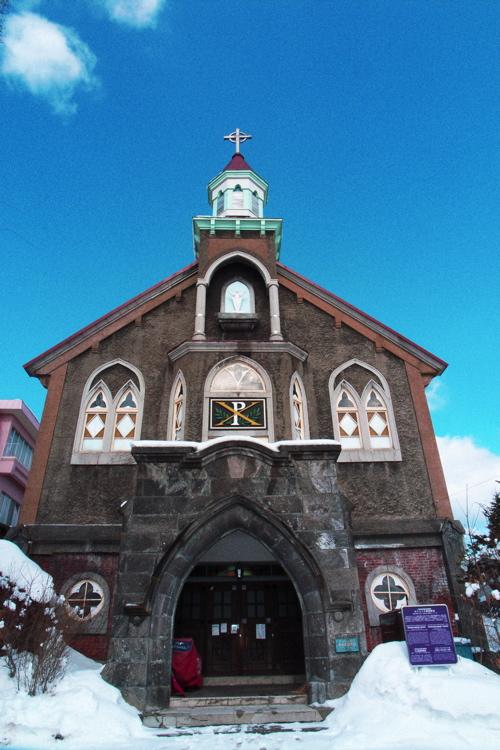 小樽50---カトリック富岡教会5_f0016215_2362966.jpg