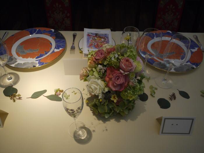 シェ松尾松濤レストラン様の装花 平日、春のはじめに_a0042928_20213935.jpg