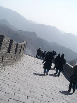 北京2日目/万里の長城_c0180686_1223043.jpg