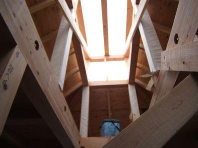 越屋根のある家、上棟式_c0004024_21422050.jpg