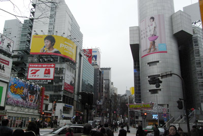 3月25日(水)今日の渋谷109前交差点_b0056983_11161360.jpg