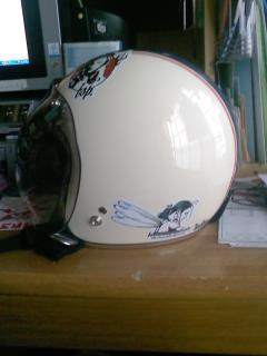 XLX4  + ヘルメット_a0095427_19384274.jpg