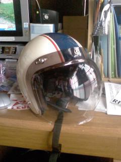 XLX4  + ヘルメット_a0095427_1938439.jpg