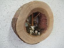 市役所玄関の飫肥杉化 完成!_f0138874_1818747.jpg