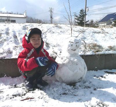雪だるまさん!_f0150893_17148100.jpg