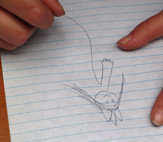 NYのストリートフェアで遭遇した小さなアーティスト_b0007805_5303073.jpg