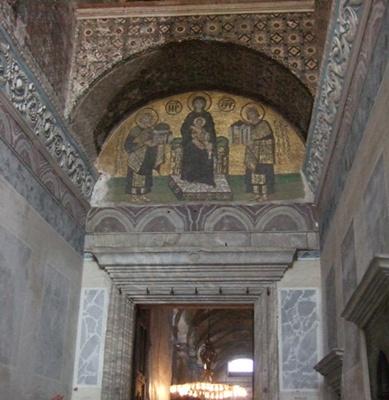 アヤ・ソフィア壁画