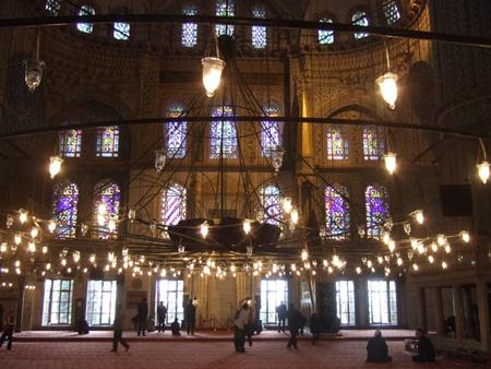 ブルー・モスク内部