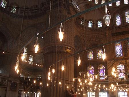 ブルー・モスクの円柱