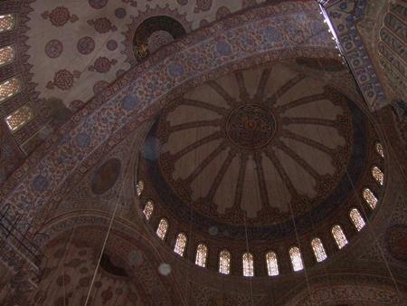 ブルー・モスクのドーム