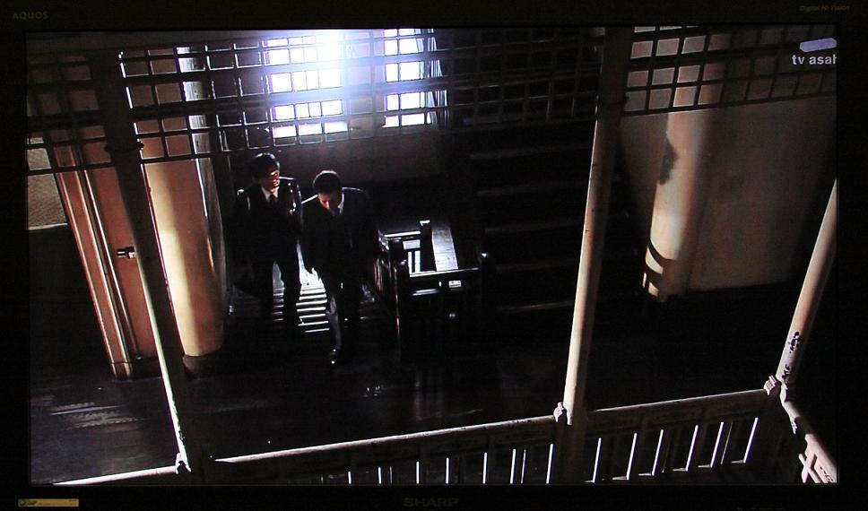 「警官の血」ロケ地        上野ビル(北九州市若松)_a0107574_20402864.jpg