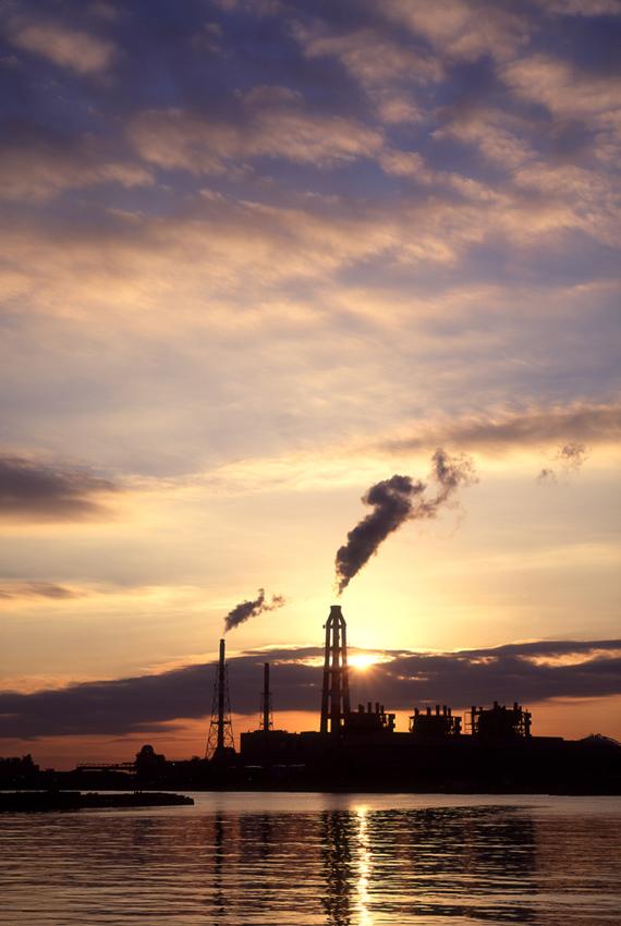 夜明けの発電所 1995年11月_c0190190_6191831.jpg