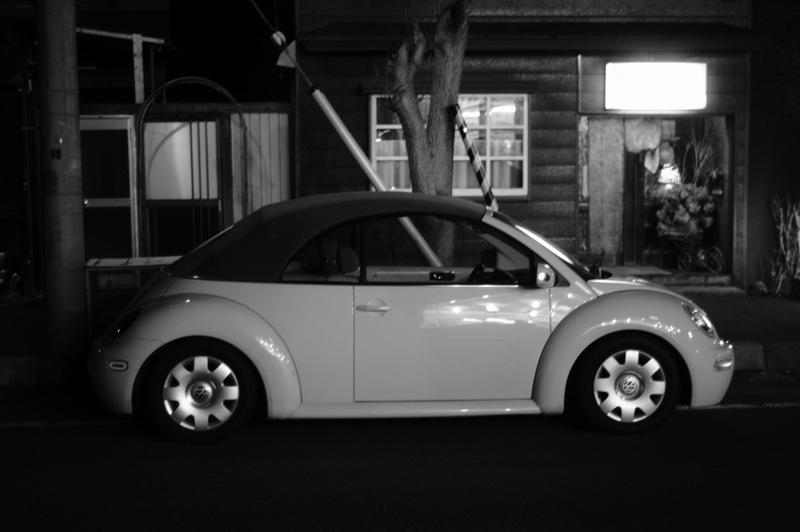 十字街界隈、夜のモノクローム_f0042194_7563073.jpg