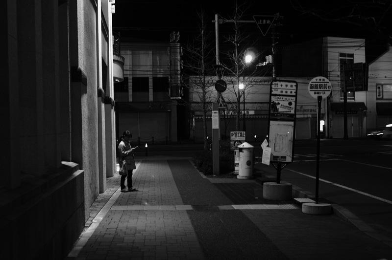 十字街界隈、夜のモノクローム_f0042194_756945.jpg