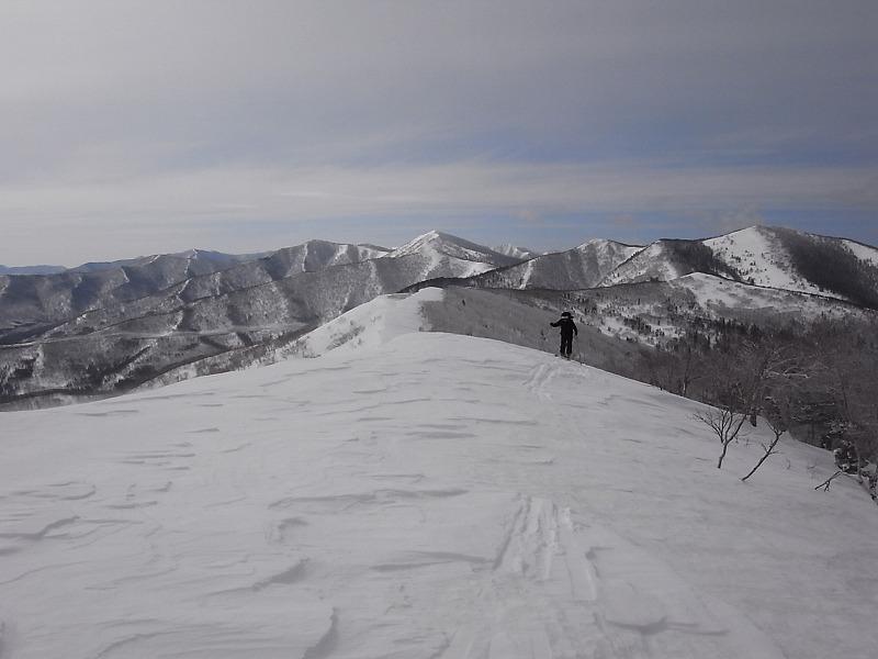 3月28日、日高の労山熊見山_f0138096_1818687.jpg