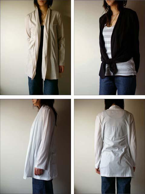 pyjama clothing [ピジャマクロージング] ROBE CARDIGAN [ローブカーディガン] _f0051306_14294315.jpg