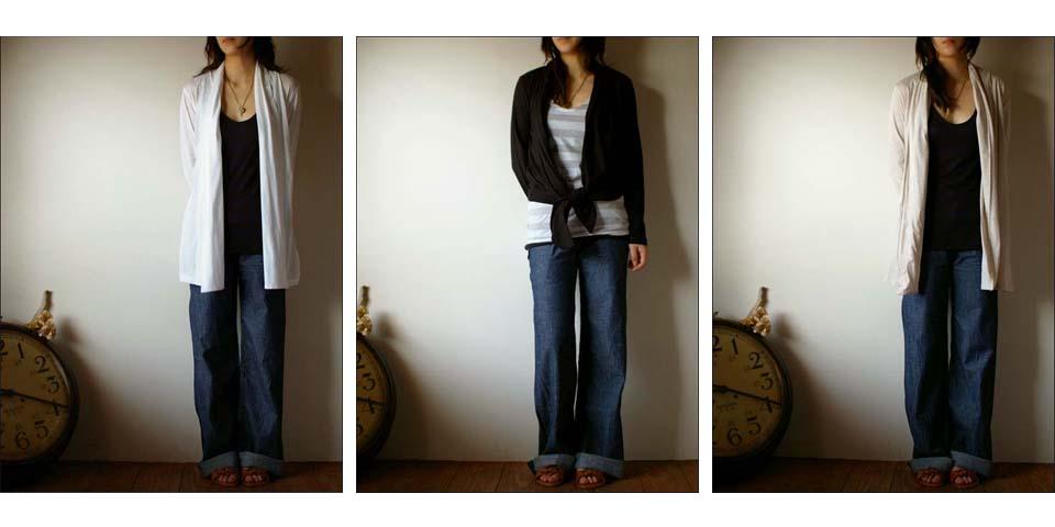 pyjama clothing [ピジャマクロージング] ROBE CARDIGAN [ローブカーディガン] _f0051306_14295327.jpg