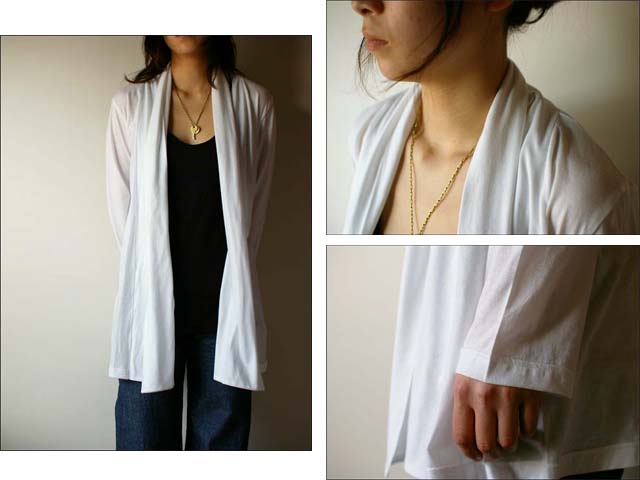 pyjama clothing [ピジャマクロージング] ROBE CARDIGAN [ローブカーディガン] _f0051306_14311268.jpg
