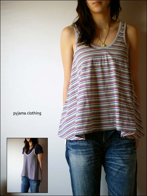 pyjama clothing [ピジャマクロージング] TUNIC STRIPE_f0051306_14354040.jpg