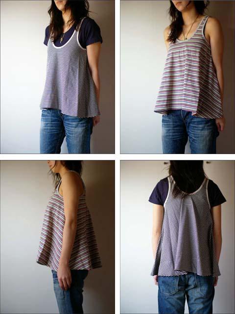 pyjama clothing [ピジャマクロージング] TUNIC STRIPE_f0051306_14354559.jpg