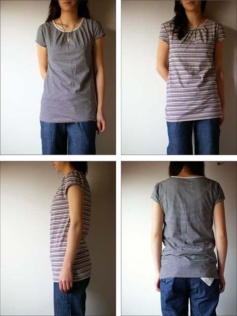 pyjama clothing [ピジャマクロージング] FRENCH PUFF STRIPE_f0051306_14372779.jpg