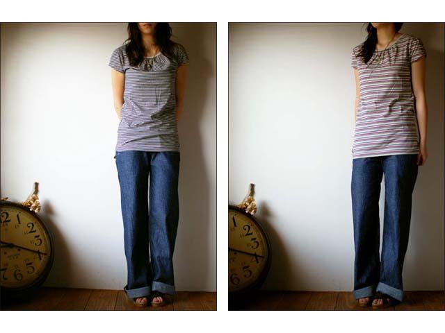 pyjama clothing [ピジャマクロージング] FRENCH PUFF STRIPE_f0051306_1439139.jpg