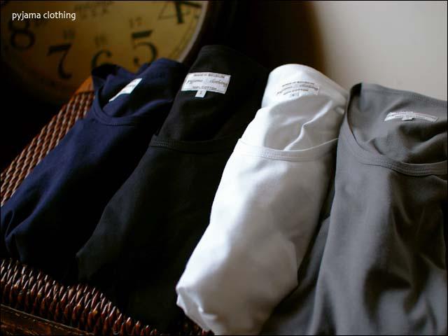 pyjama clothing [ピジャマクロージング]  SSS U-NECK_f0051306_14572790.jpg