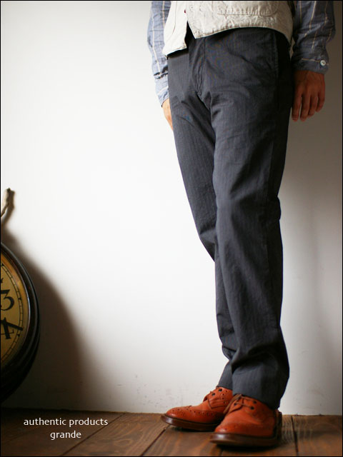 authentic products [オーセンティックプロダクツ] grande [stripe trousers] _f0051306_1511745.jpg