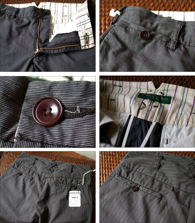 authentic products [オーセンティックプロダクツ] grande [stripe trousers] _f0051306_1525769.jpg
