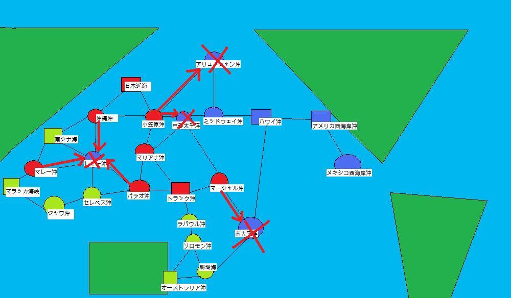 提督の決断Ⅳ攻略。 第5回目。_f0186726_9501045.jpg