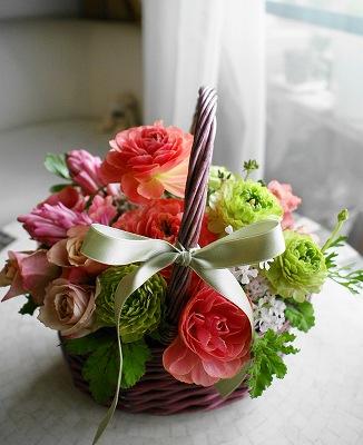 Spring flower レッスン_e0158355_1022621.jpg