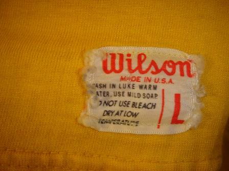 WILSON Teeシャツ _c0146178_12555784.jpg