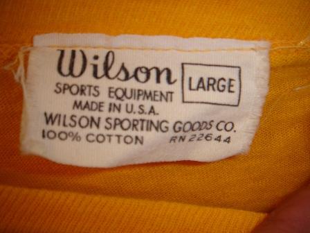 WILSON Teeシャツ _c0146178_1284373.jpg