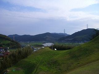 鏡山からの眺め。_c0177995_12274866.jpg