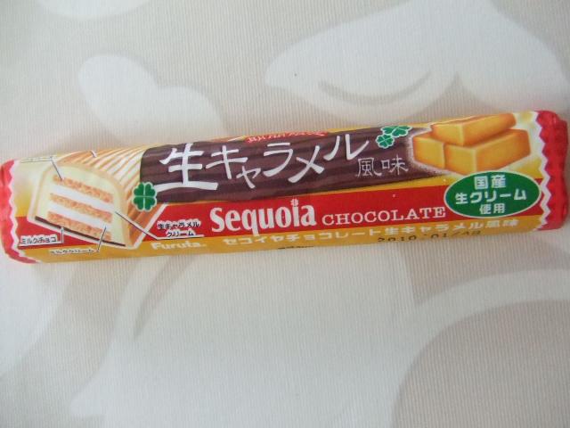 セコイヤチョコレート 生キャラメル風味_f0076001_23225059.jpg
