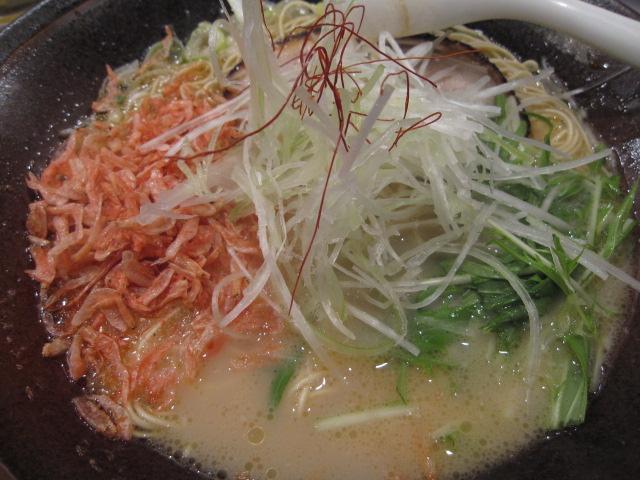 麺屋侍の海老薫極味¥850@立川_b0042308_012570.jpg