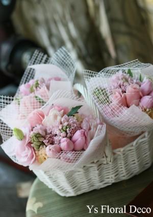 春色の受付飾り_b0113510_23593278.jpg