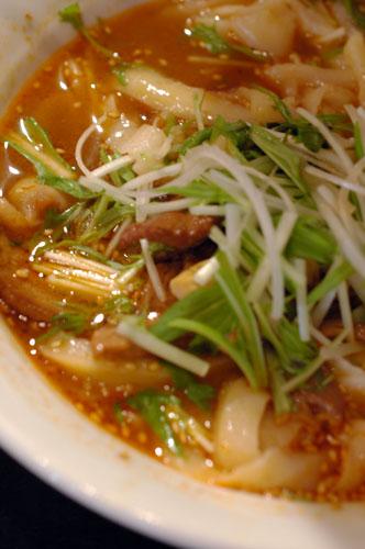 刀削麺〜猪八戒_d0023111_11555738.jpg