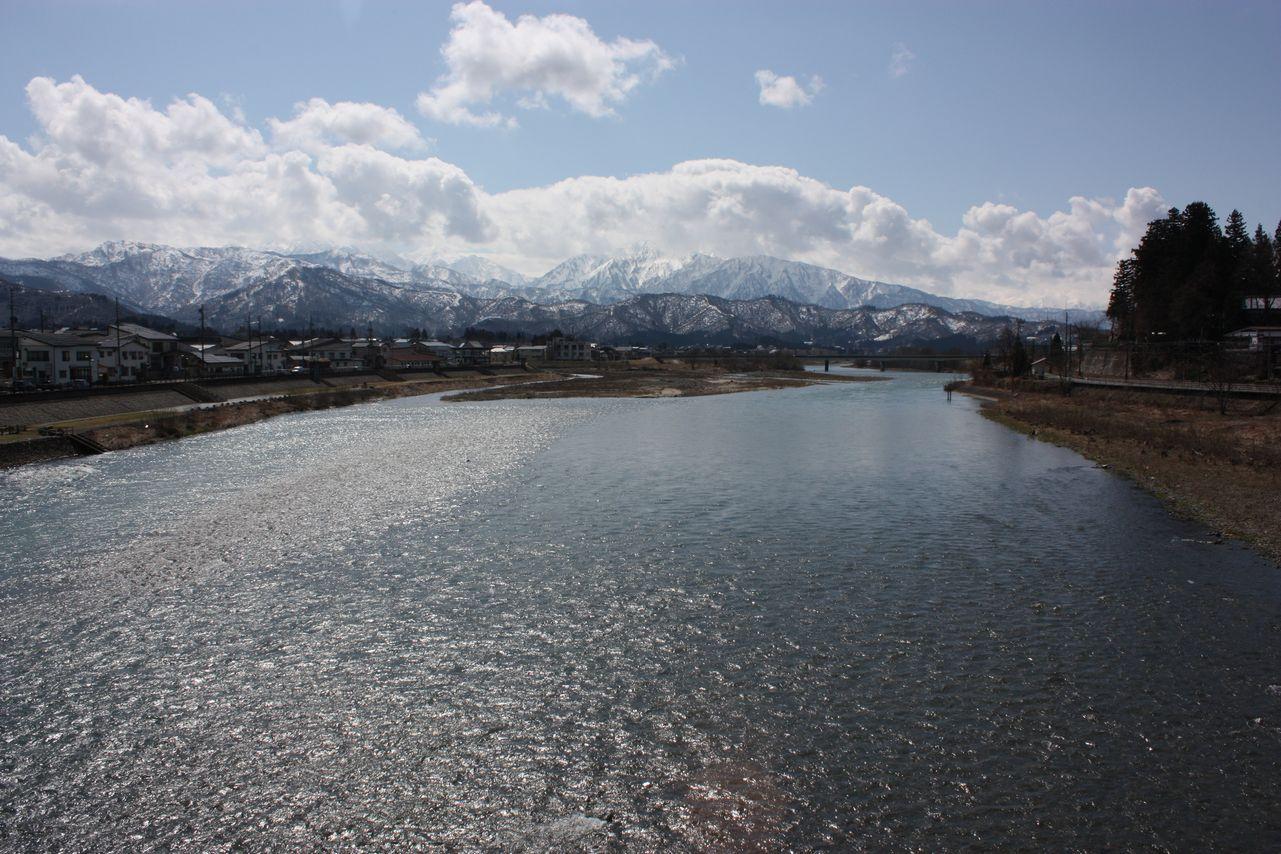 3月30日(月) 今日の魚野川_e0150433_14315973.jpg