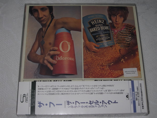 THE WHO /SELL OUT (DX EDITION 紙ジャケ)_b0042308_22393921.jpg