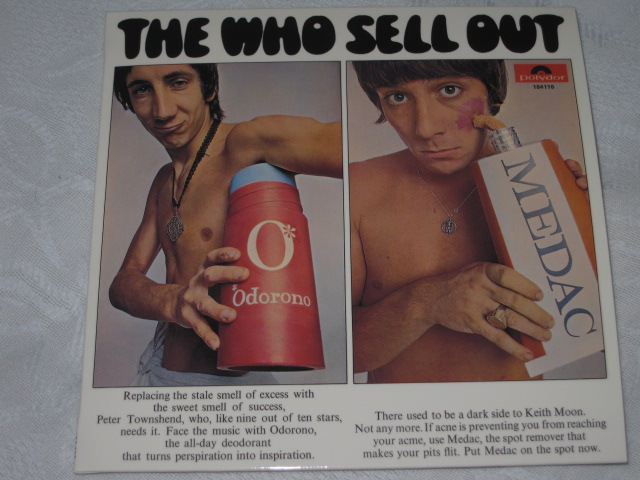 THE WHO /SELL OUT (DX EDITION 紙ジャケ)_b0042308_22534576.jpg