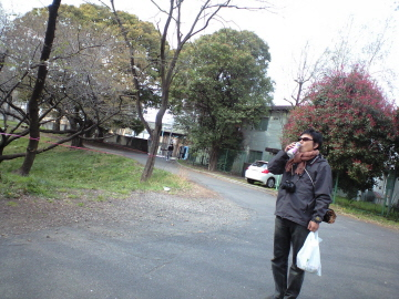 東大駒場キャンパスでお花見。_c0188809_22384351.jpg
