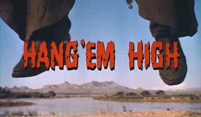 Hang\'em High(OST 『奴らを高く吊るせ!』より)_f0147840_2337133.jpg