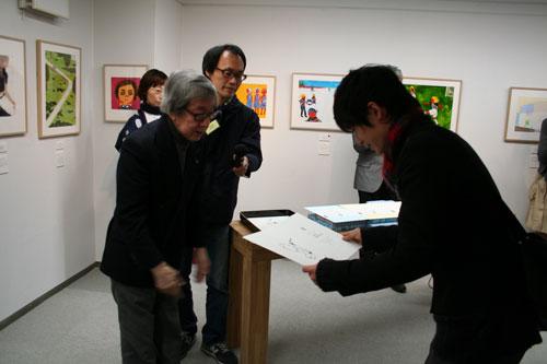 TIS公募受賞作品展がスタートしました。_f0171840_17302443.jpg