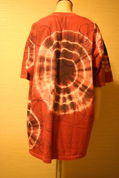 order made 152 絞り染めと手描き 男性用Tシャツ_e0104046_2347979.jpg